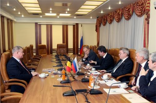 встреча в Совете федерации