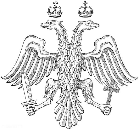 Двуглавый орел Византийской Империи